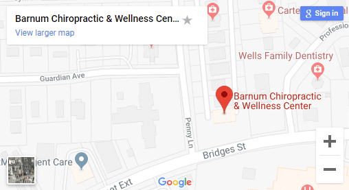 Map of Morehead City Chiropractors